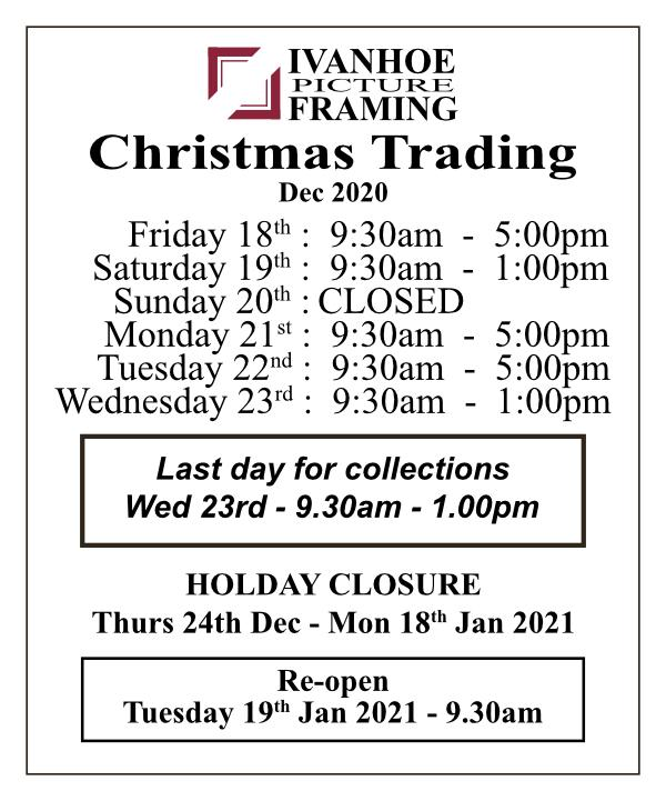 Christmas Trading Hours 2020 LR