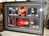 Mohamed Ali Glove in Workshop